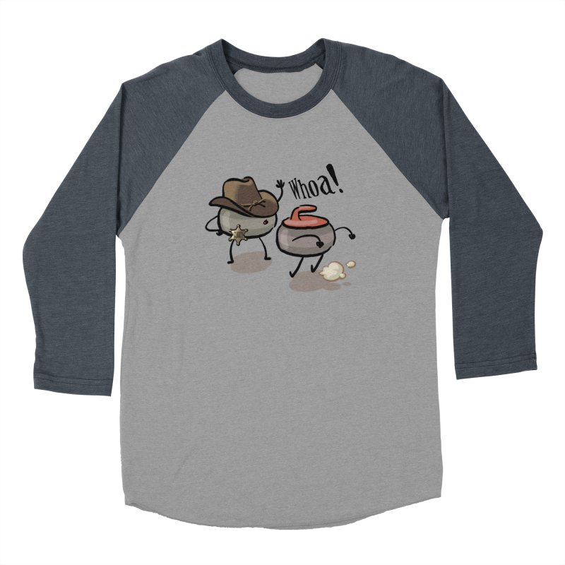 The Guard Women's Baseball Triblend Longsleeve T-Shirt by Friday the Shirteenth