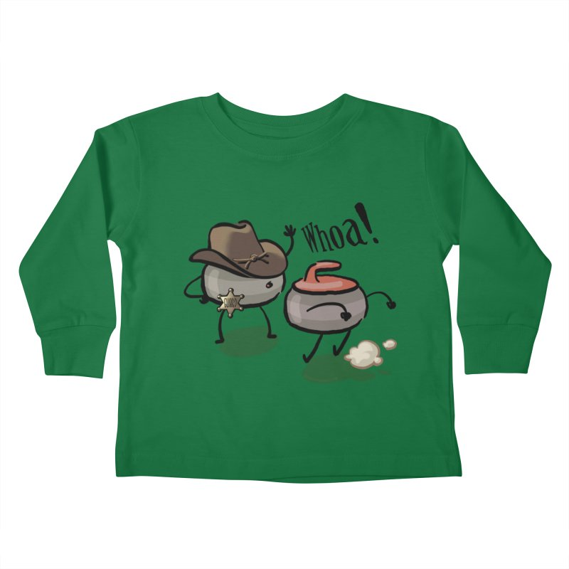 The Guard Kids Toddler Longsleeve T-Shirt by Friday the Shirteenth