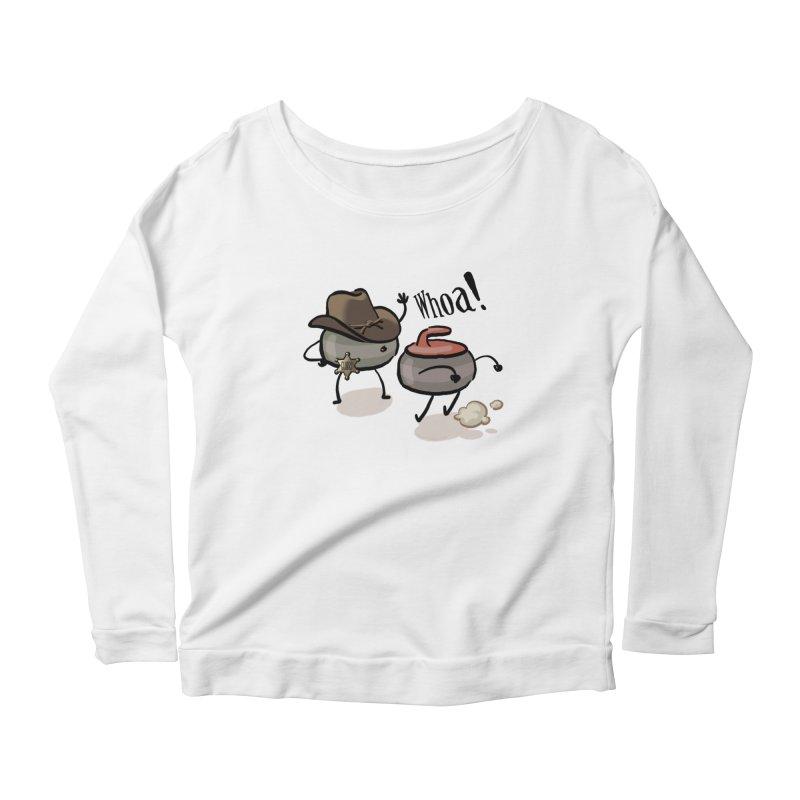 The Guard Women's Scoop Neck Longsleeve T-Shirt by Friday the Shirteenth