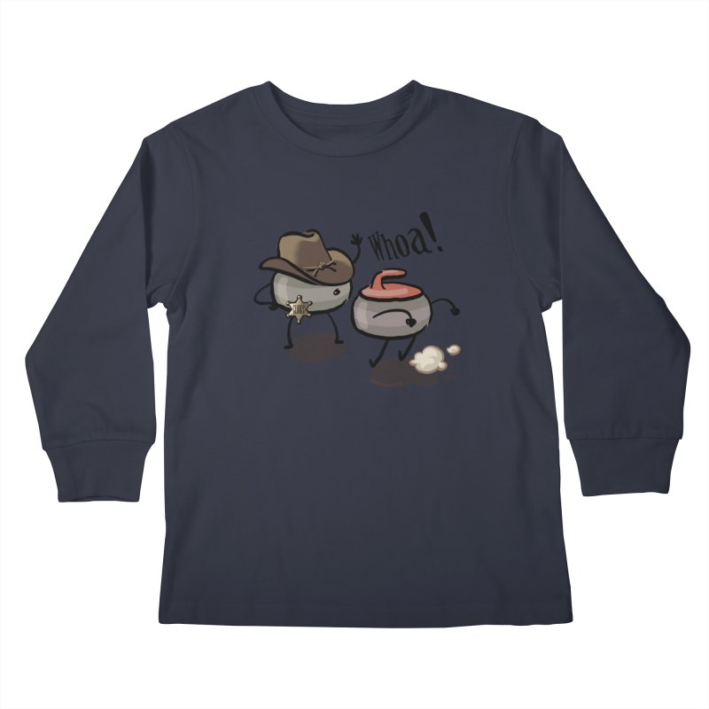The Guard Kids Longsleeve T-Shirt by Friday the Shirteenth