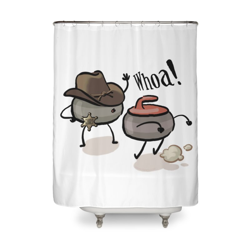 The Guard Home Shower Curtain by Friday the Shirteenth