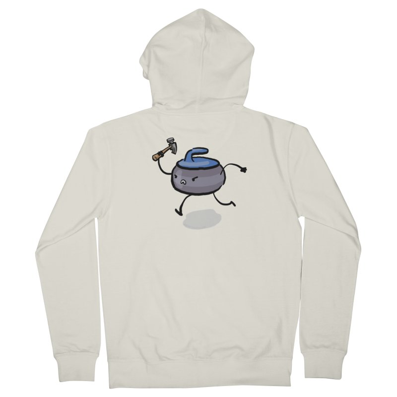 The Hammer Men's French Terry Zip-Up Hoody by Friday the Shirteenth