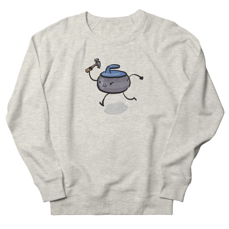The Hammer Men's French Terry Sweatshirt by Friday the Shirteenth