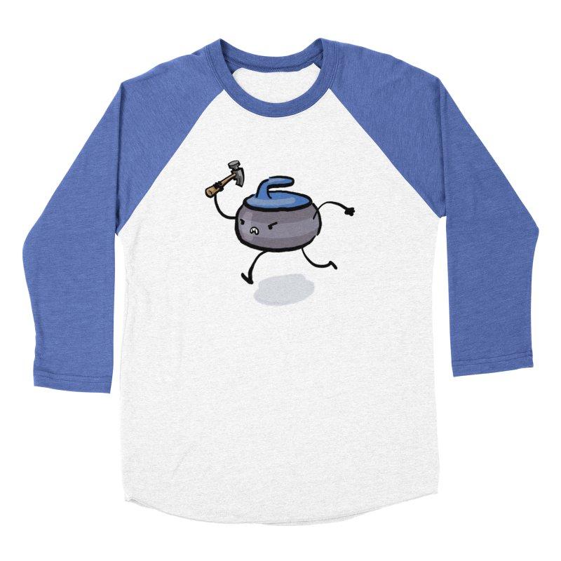 The Hammer Women's Baseball Triblend Longsleeve T-Shirt by Friday the Shirteenth