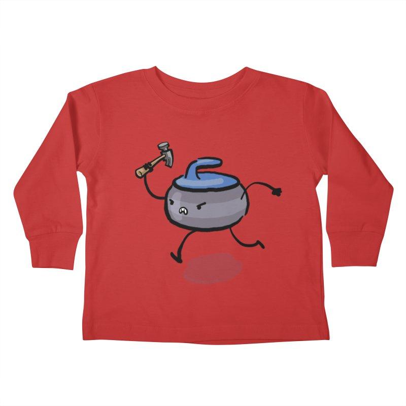 The Hammer Kids Toddler Longsleeve T-Shirt by Friday the Shirteenth