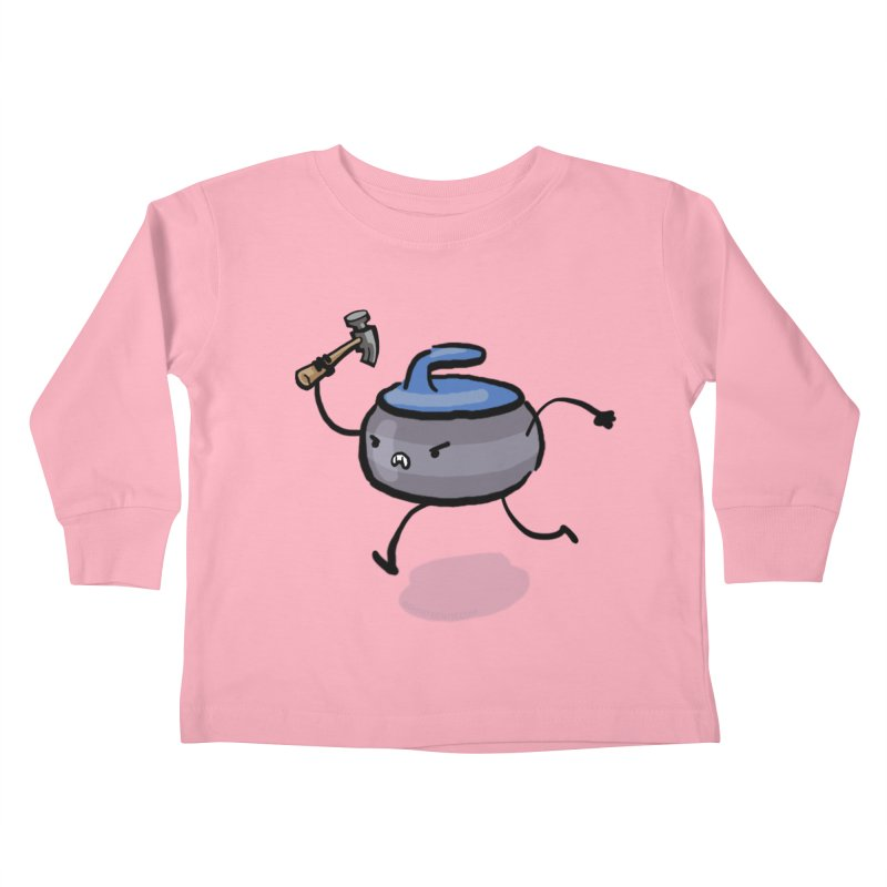 The Hammer Kids Toddler Longsleeve T-Shirt by Friday the Shirteenth