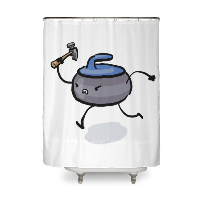 The Hammer Home Shower Curtain by Friday the Shirteenth