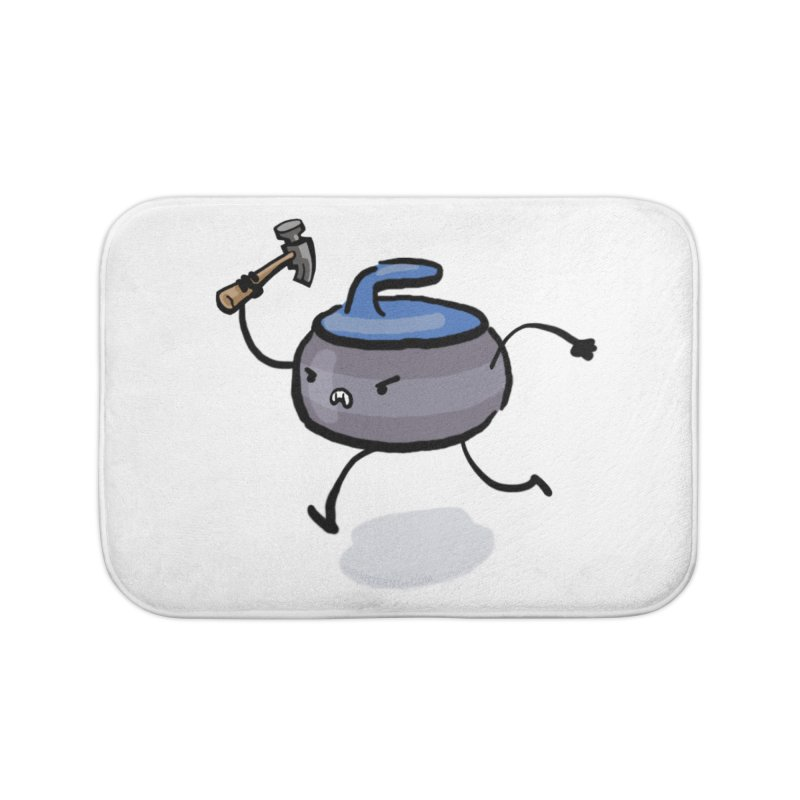 The Hammer Home Bath Mat by Friday the Shirteenth