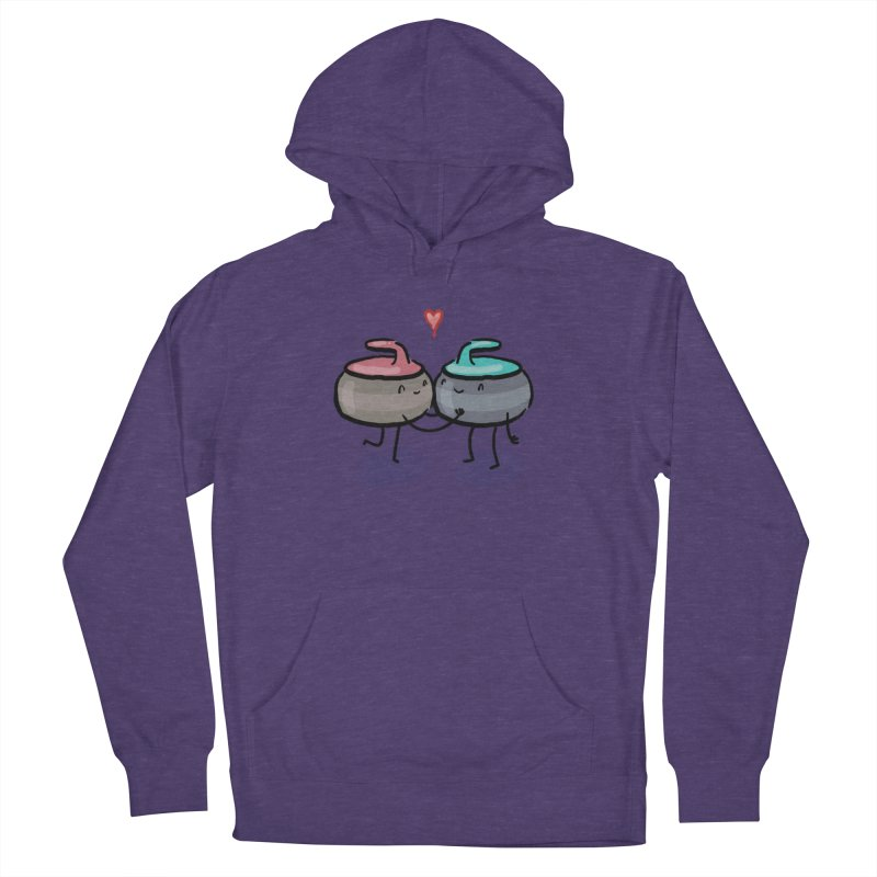 The Kiss Women's French Terry Pullover Hoody by Friday the Shirteenth