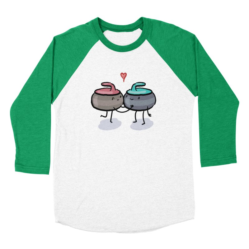 The Kiss Women's Baseball Triblend Longsleeve T-Shirt by Friday the Shirteenth