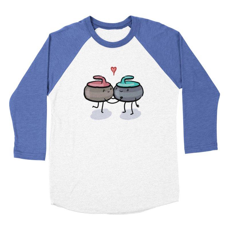 The Kiss Men's Baseball Triblend Longsleeve T-Shirt by Friday the Shirteenth