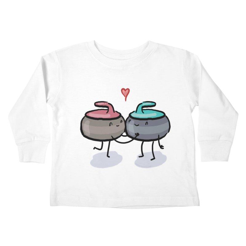 The Kiss Kids Toddler Longsleeve T-Shirt by Friday the Shirteenth