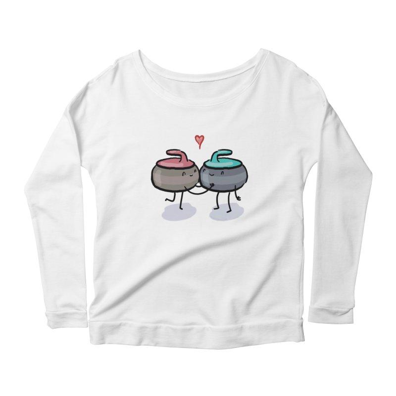 The Kiss Women's Scoop Neck Longsleeve T-Shirt by Friday the Shirteenth