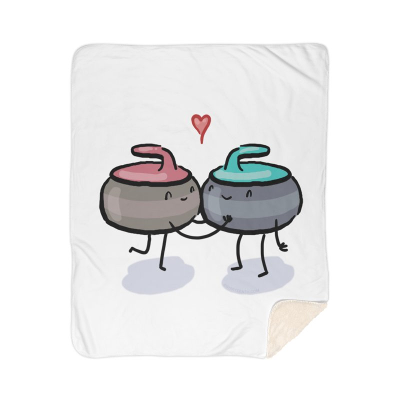The Kiss Home Sherpa Blanket Blanket by Friday the Shirteenth