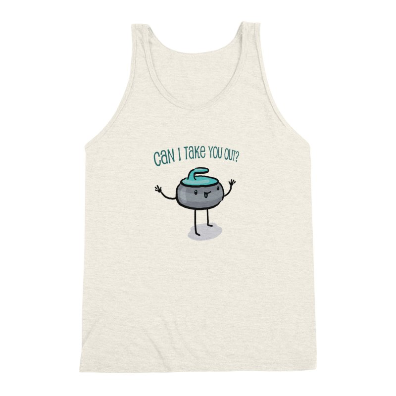 The Take Out Attempt Men's Triblend Tank by Friday the Shirteenth