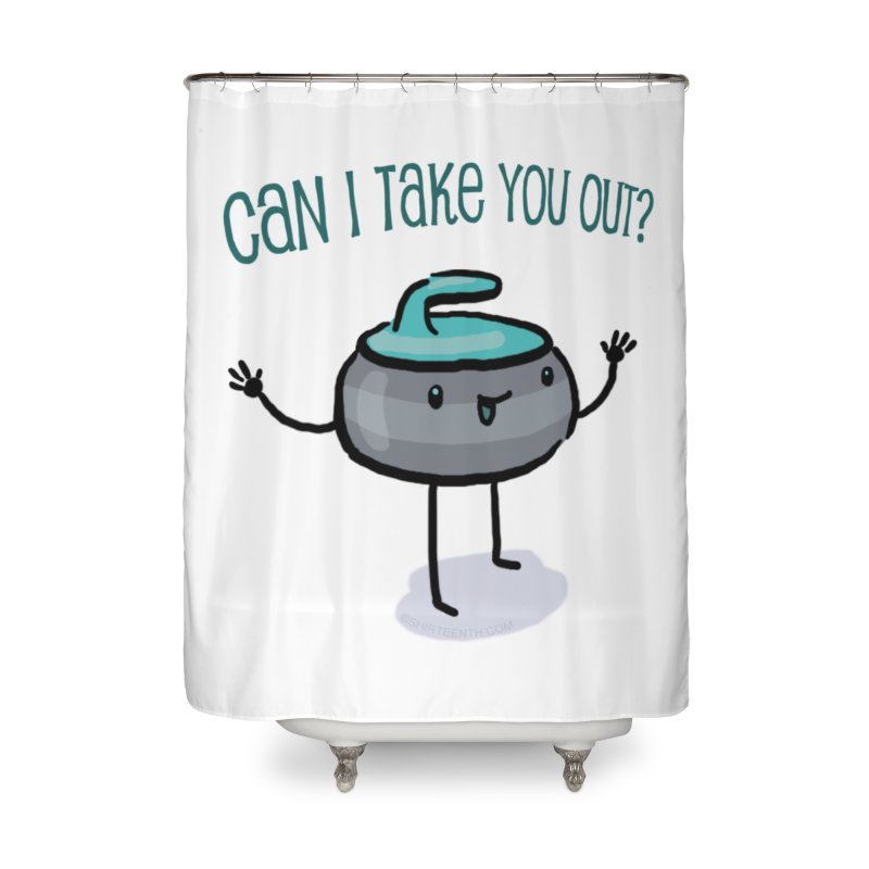 The Take Out Attempt Home Shower Curtain by Friday the Shirteenth