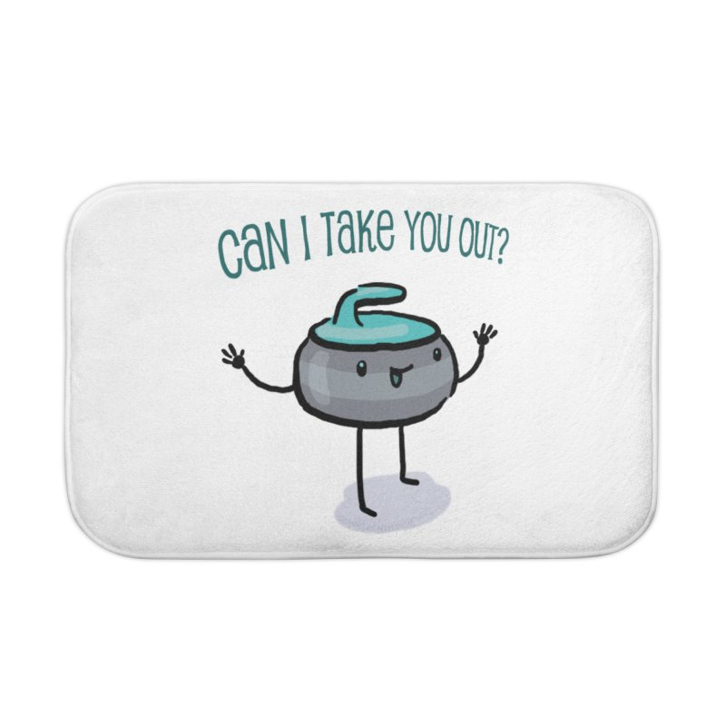 The Take Out Attempt Home Bath Mat by Friday the Shirteenth