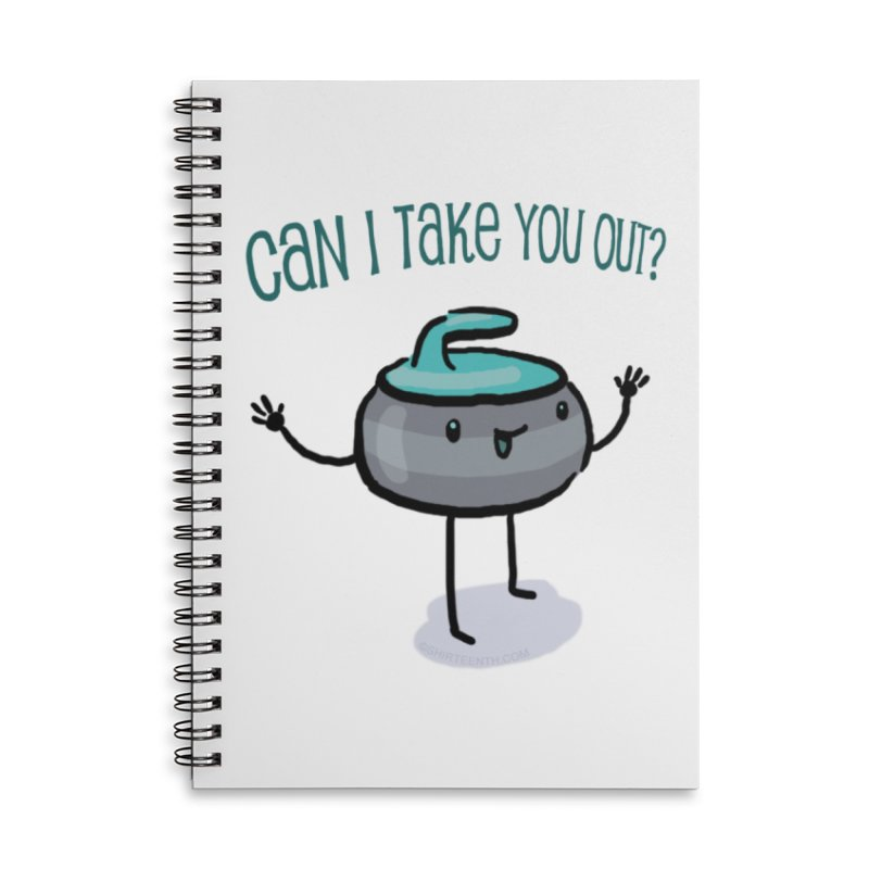 The Take Out Attempt Accessories Lined Spiral Notebook by Friday the Shirteenth