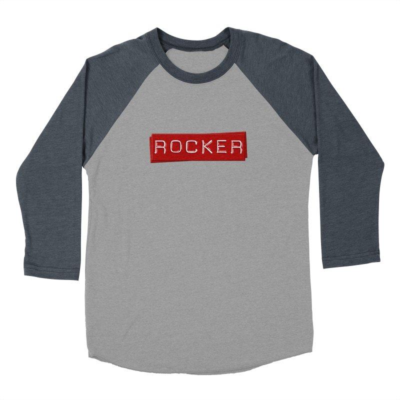 Rocker Women's Baseball Triblend Longsleeve T-Shirt by Friday the Shirteenth