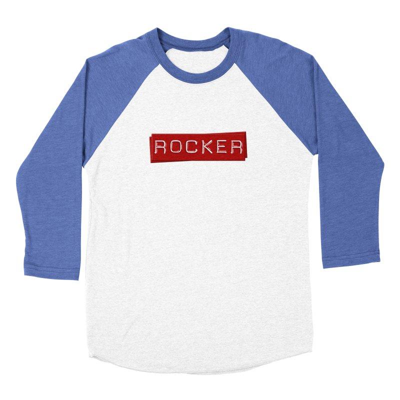 Rocker Men's Baseball Triblend Longsleeve T-Shirt by Friday the Shirteenth