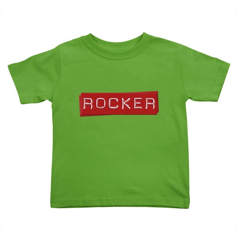 Rocker Kids Toddler T-Shirt by Friday the Shirteenth