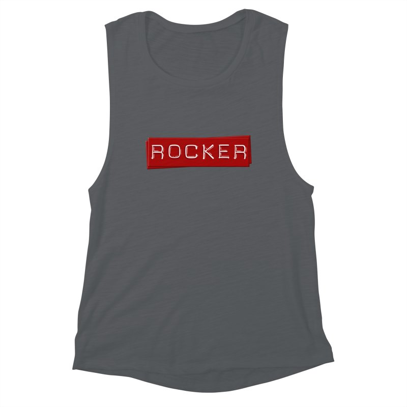 Rocker Women's Tank by Friday the Shirteenth