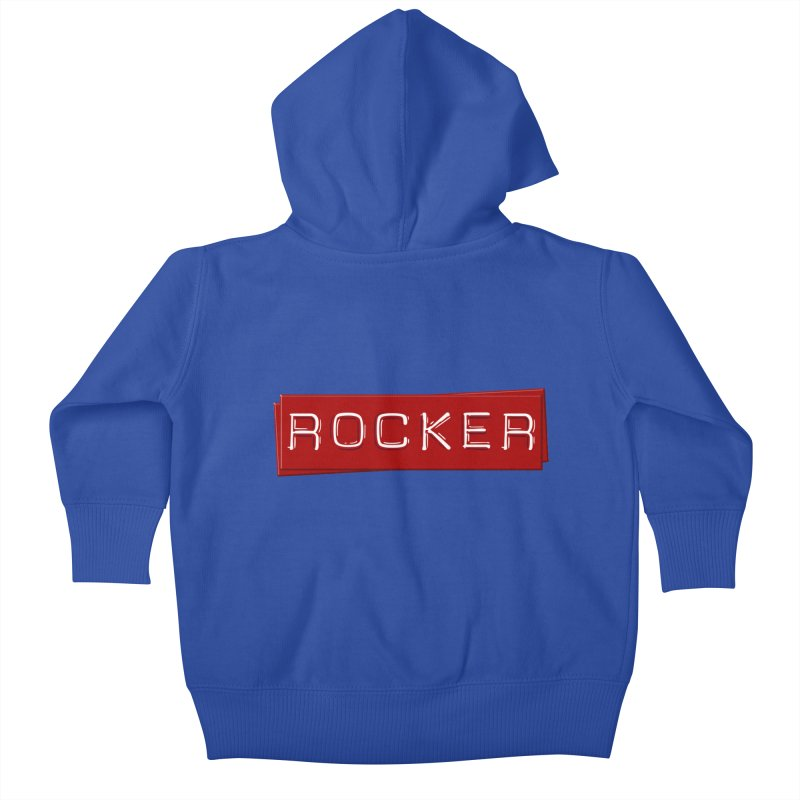 Rocker Kids Baby Zip-Up Hoody by Friday the Shirteenth
