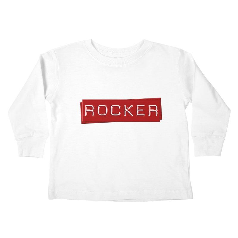 Rocker Kids Toddler Longsleeve T-Shirt by Friday the Shirteenth