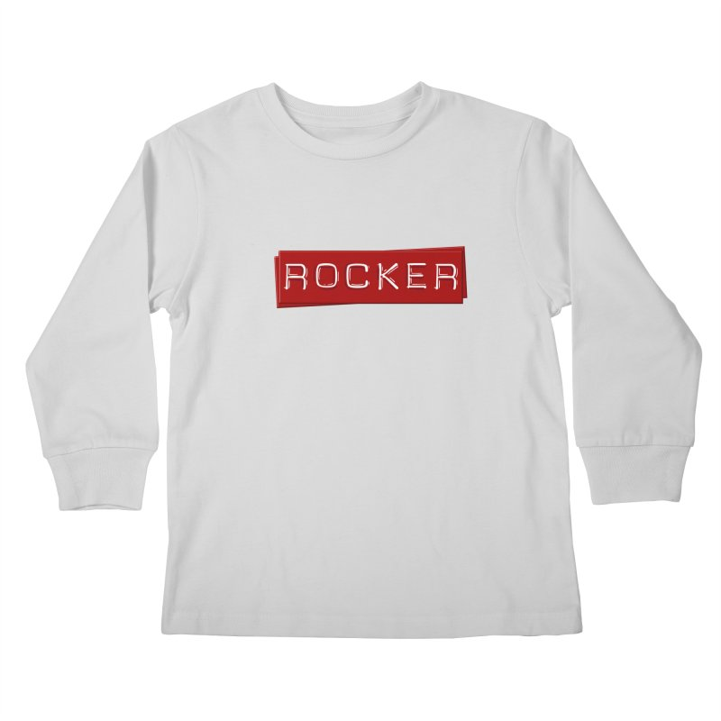 Rocker Kids Longsleeve T-Shirt by Friday the Shirteenth