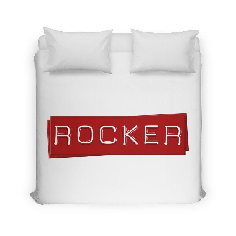 Rocker Home Duvet by Friday the Shirteenth