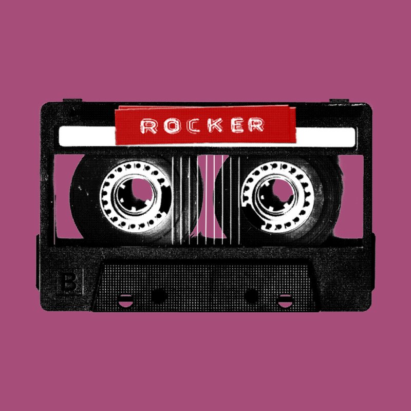 Rocker MixTape Women's Longsleeve T-Shirt by Friday the Shirteenth