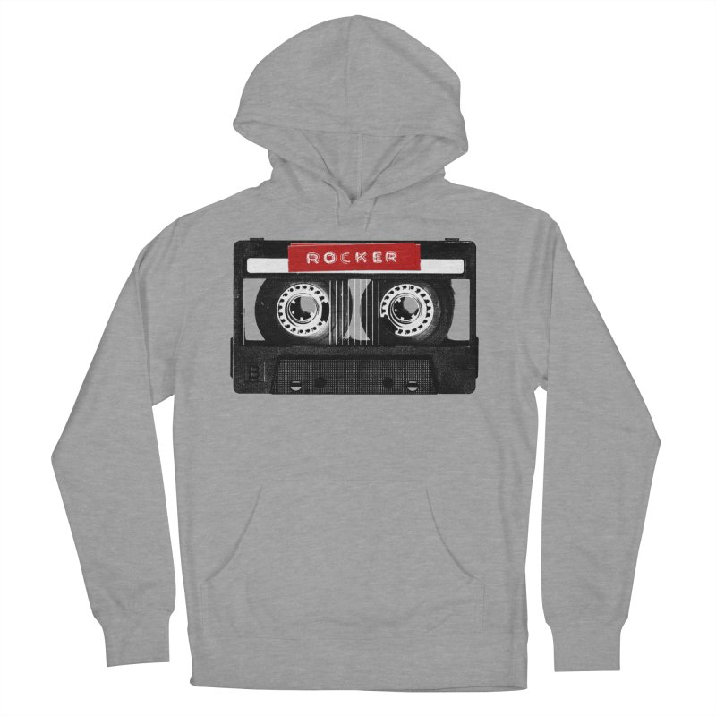Rocker MixTape Women's French Terry Pullover Hoody by Friday the Shirteenth