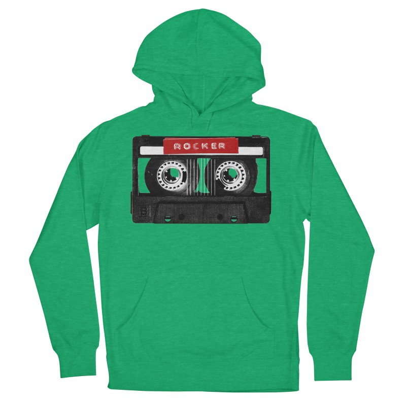 Rocker MixTape Men's French Terry Pullover Hoody by Friday the Shirteenth