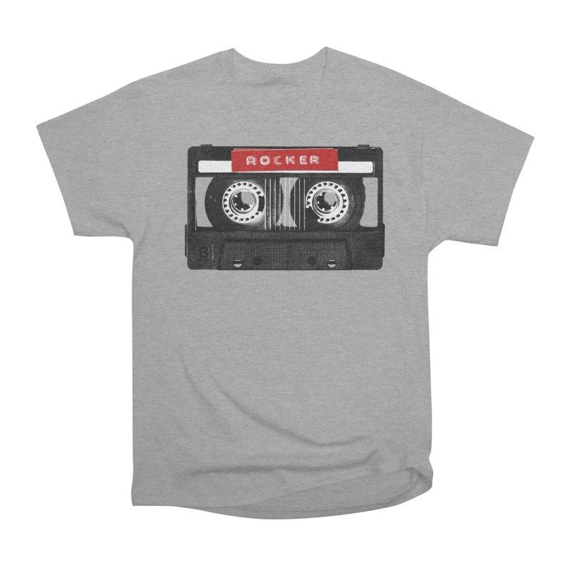 Rocker MixTape Men's Heavyweight T-Shirt by Friday the Shirteenth