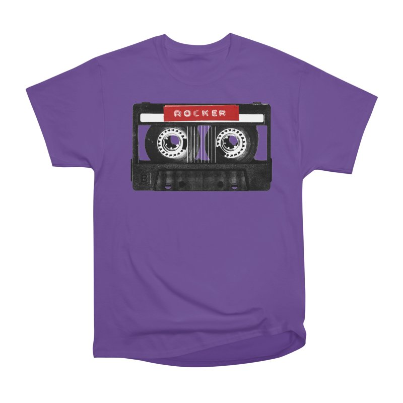 Rocker MixTape Men's Heavyweight T-Shirt by Friday the Shirteenth