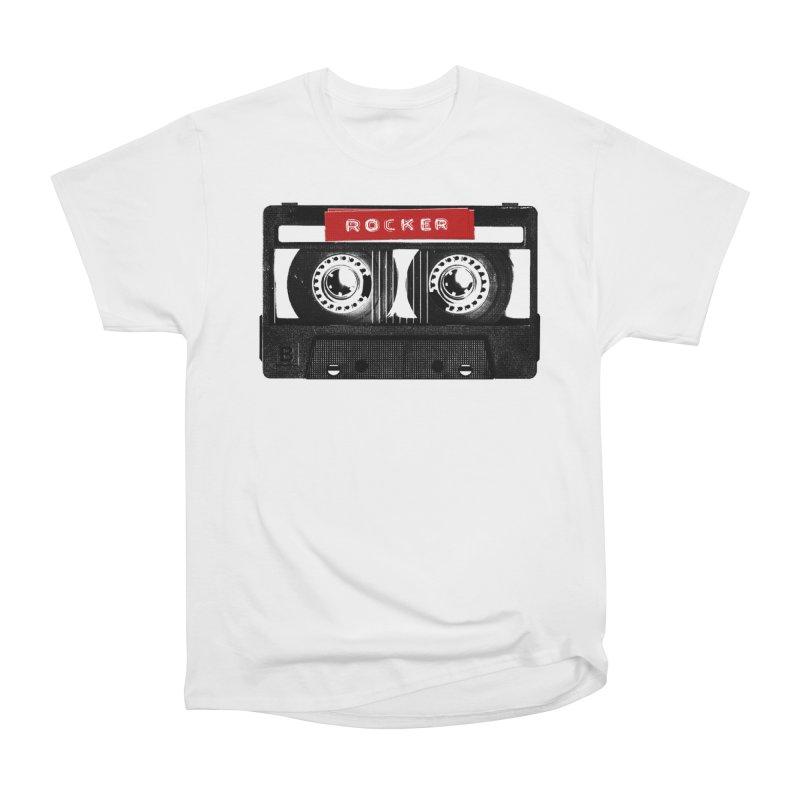 Rocker MixTape Women's Heavyweight Unisex T-Shirt by Friday the Shirteenth