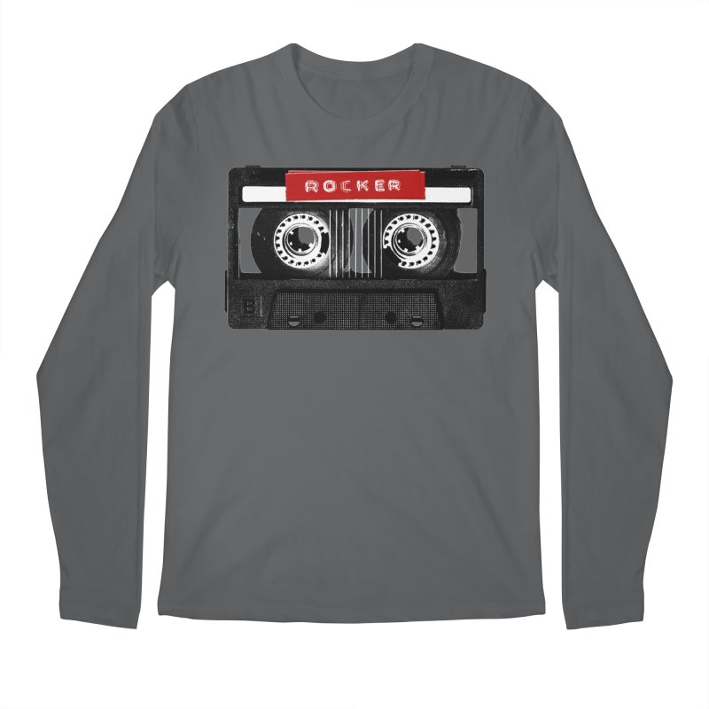 Rocker MixTape Men's Regular Longsleeve T-Shirt by Friday the Shirteenth