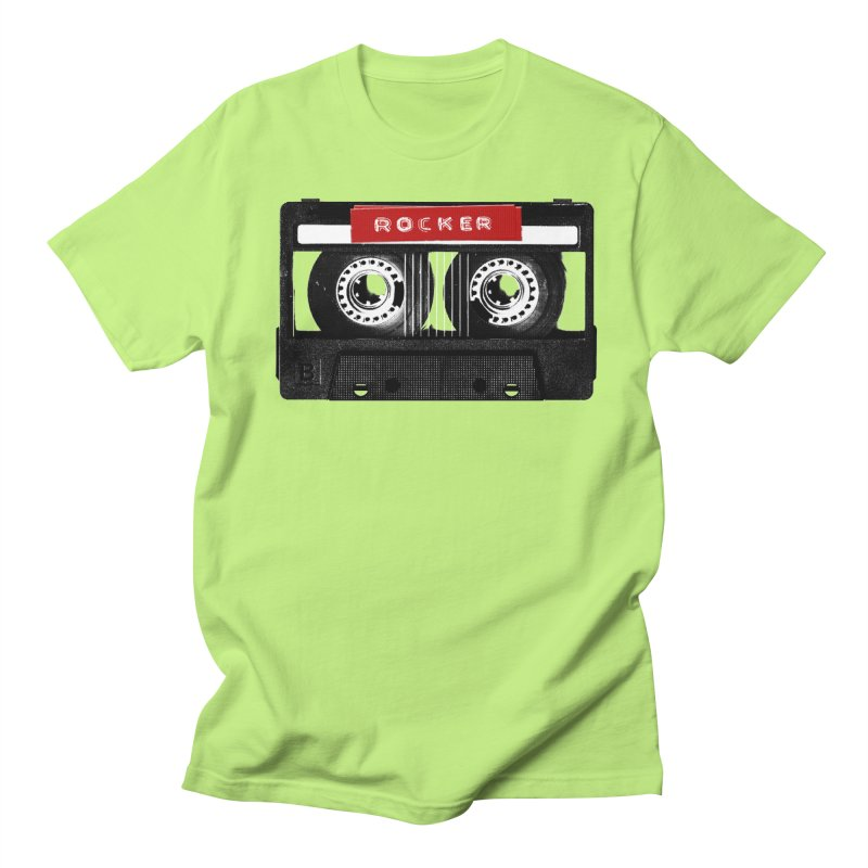 Rocker MixTape Women's Regular Unisex T-Shirt by Friday the Shirteenth