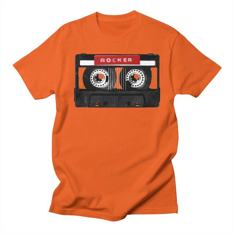 Rocker MixTape Men's Regular T-Shirt by Friday the Shirteenth