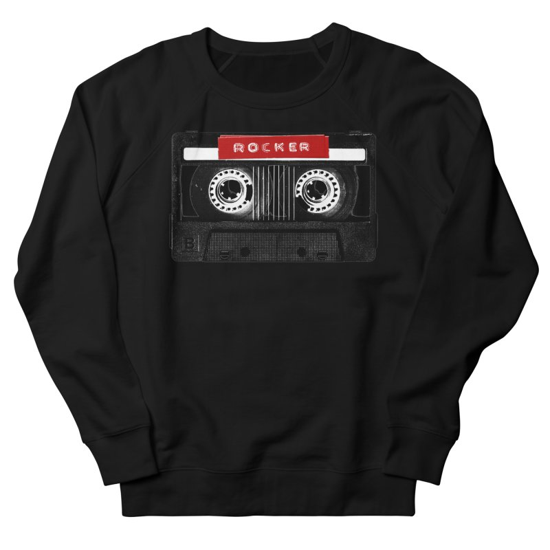 Rocker MixTape Women's French Terry Sweatshirt by Friday the Shirteenth