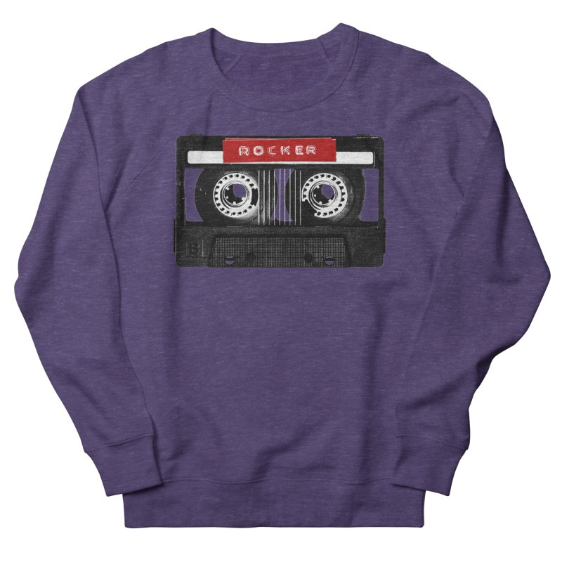 Rocker MixTape Men's French Terry Sweatshirt by Friday the Shirteenth