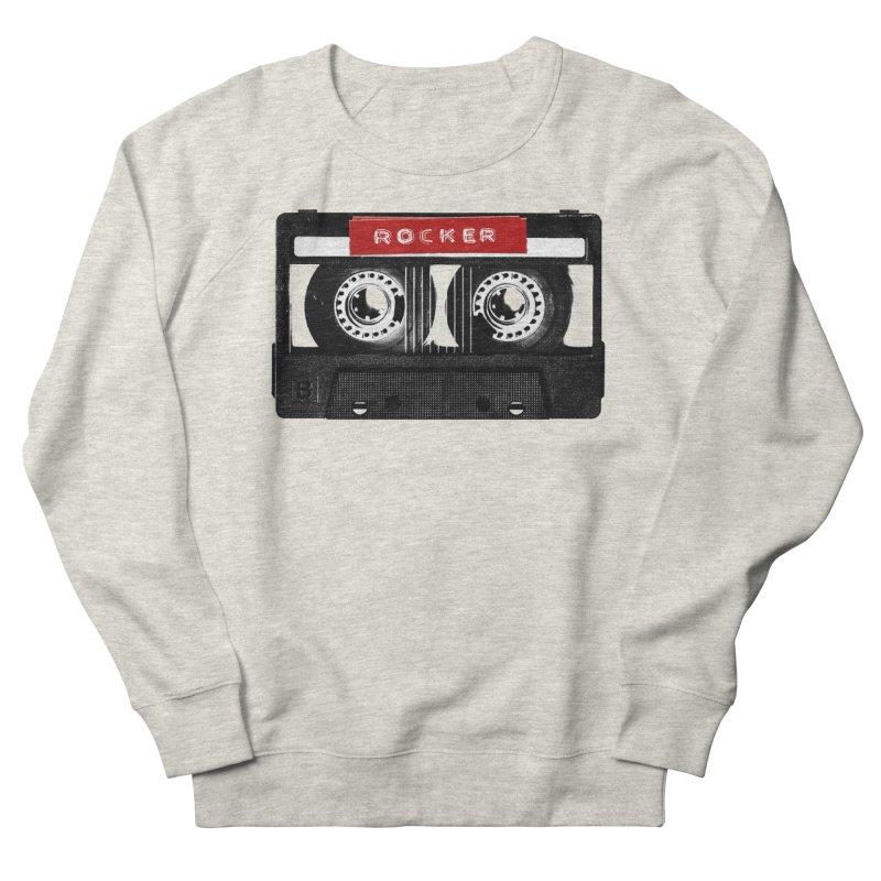 Rocker MixTape Men's French Terry Sweatshirt by Friday the Shirteenth