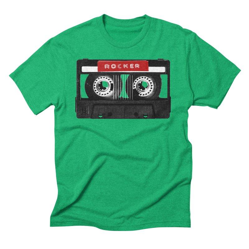 Rocker MixTape Men's Triblend T-Shirt by Friday the Shirteenth