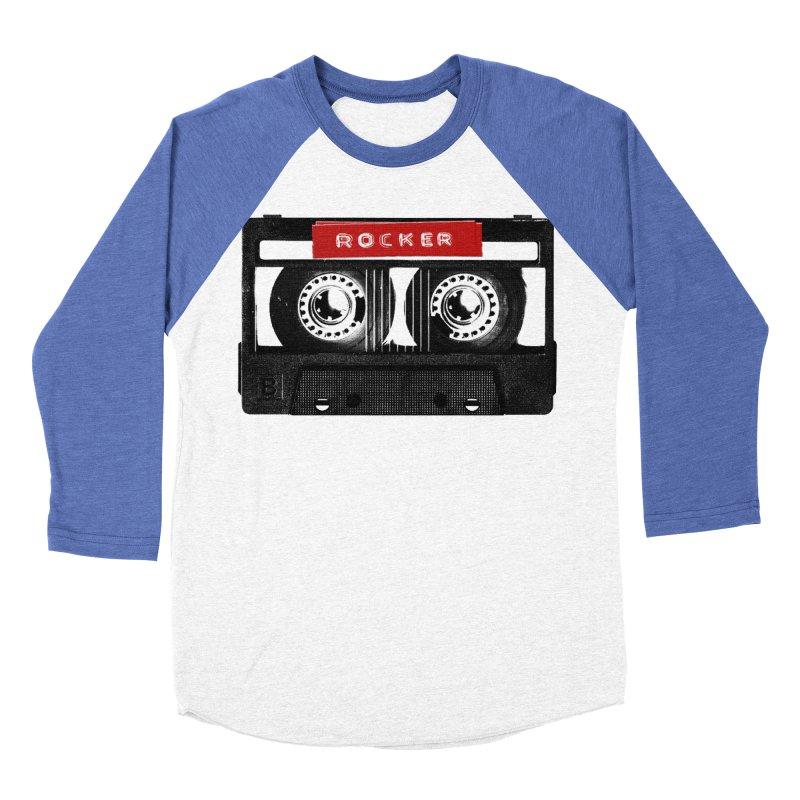 Rocker MixTape Men's Baseball Triblend Longsleeve T-Shirt by Friday the Shirteenth