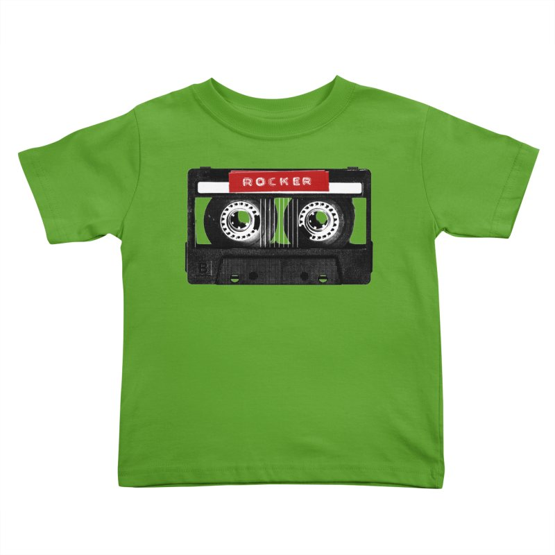 Rocker MixTape Kids Toddler T-Shirt by Friday the Shirteenth