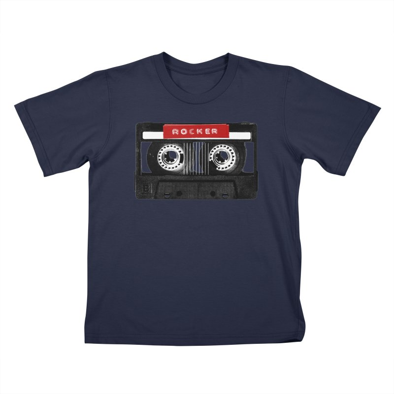 Rocker MixTape Kids T-Shirt by Friday the Shirteenth