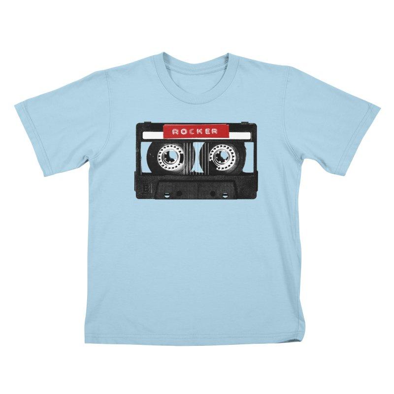 Rocker MixTape Kids T-Shirt by Friday the Shirteenth