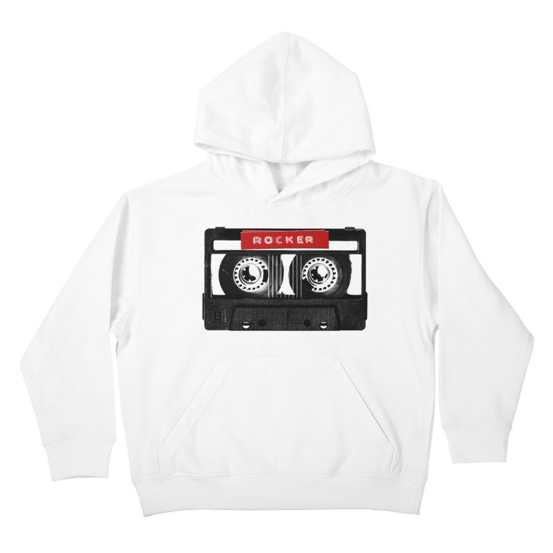 Rocker MixTape Kids Pullover Hoody by Friday the Shirteenth
