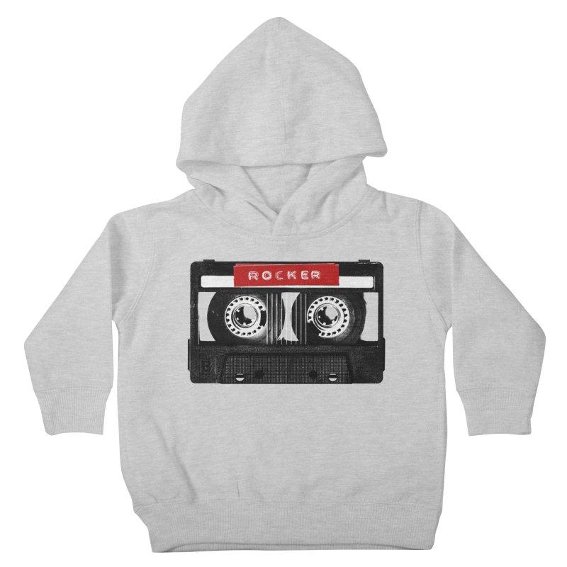 Rocker MixTape Kids Toddler Pullover Hoody by Friday the Shirteenth