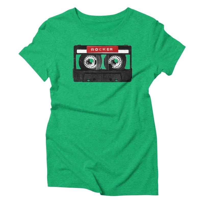 Rocker MixTape Women's Triblend T-Shirt by Friday the Shirteenth